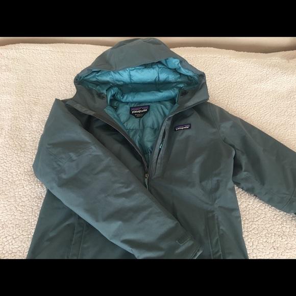 Patagonia Windsweep Down Hoody puff Jacket Medium.  M 5a92f3eca4c485bb0e2287d2 63c5951af5b6